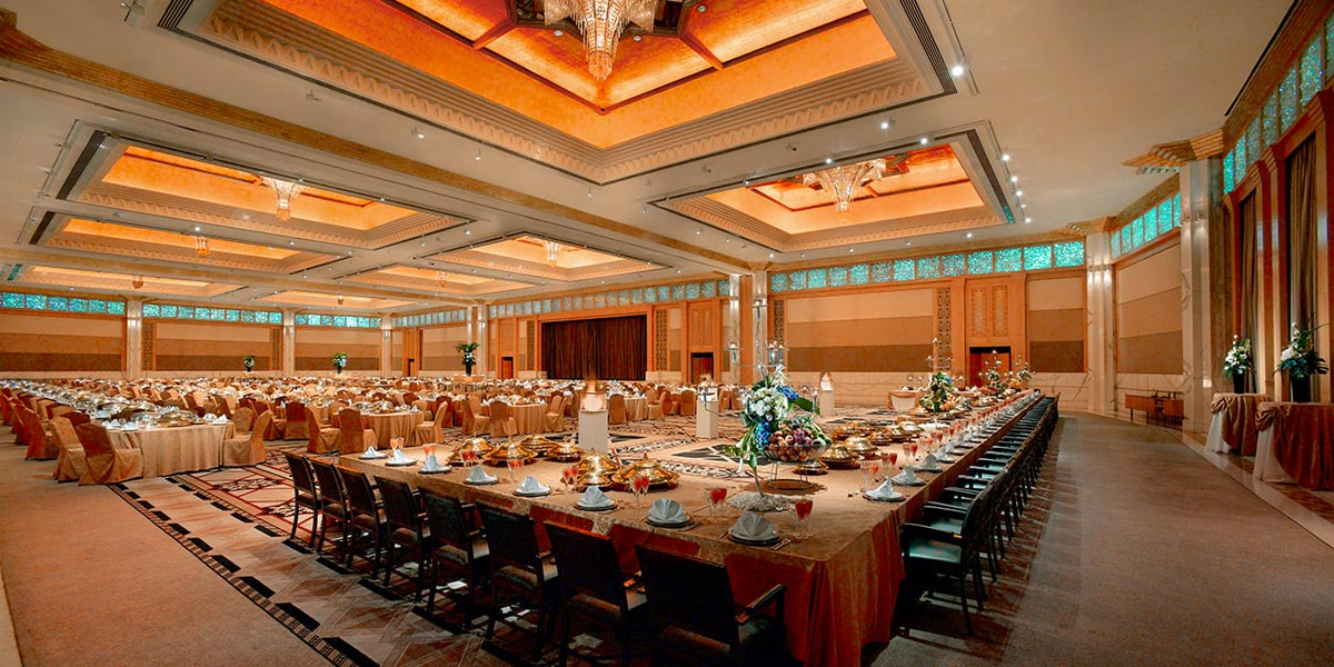 Hire A Venue In Dubai, Grand Hyatt Dubai, Prestigious Venues