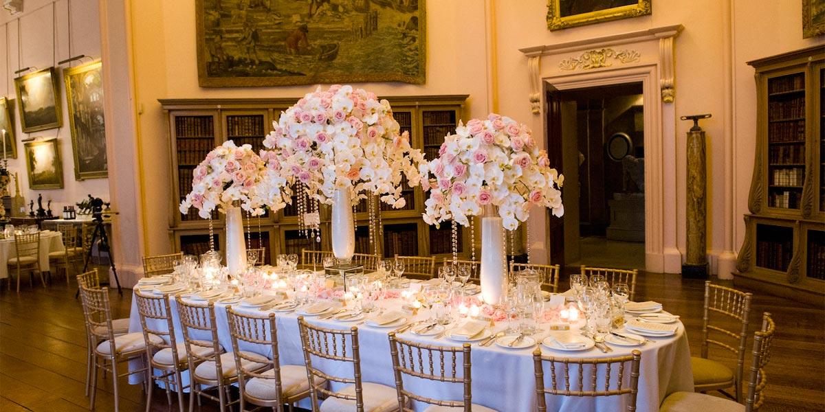 London Florist, Wildabout Flowers, Prestigious Venues