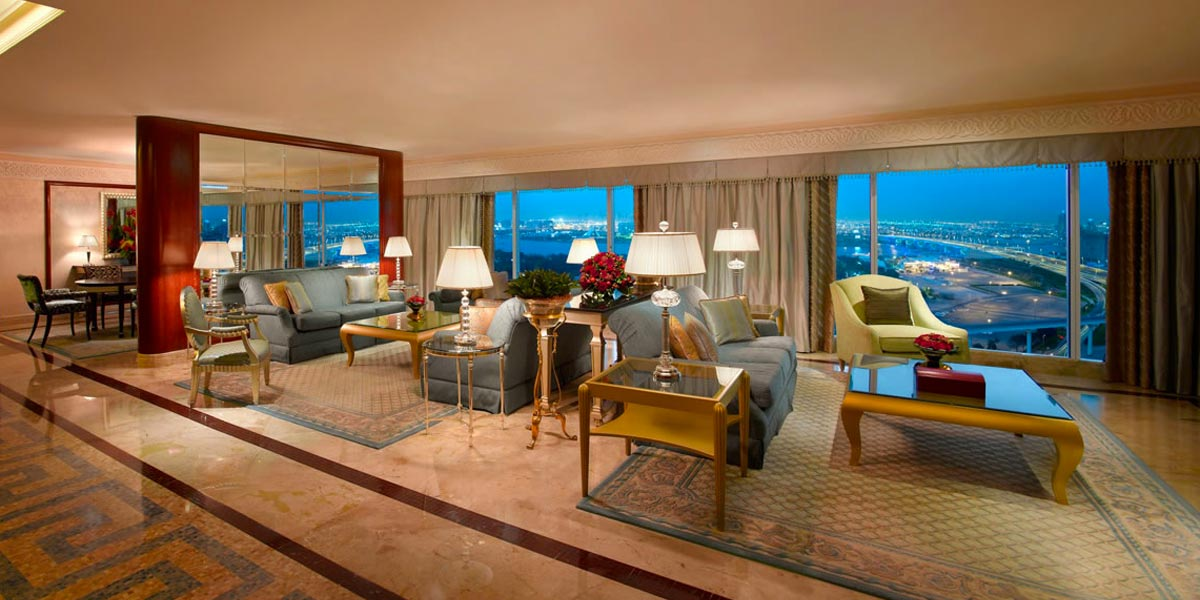 Luxury Accommodation In Dubai, Grand Hyatt Dubai, Prestigious Venues