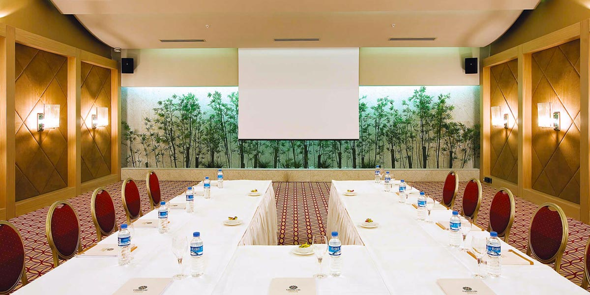 Organise A Business Meeting In Turkey, Cornelia Diamond Golf Resort & Spa, Prestigious Venues
