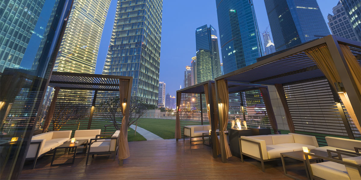 Outdoor Venue, Mandarin Oriental Pudong Shanghai, Prestigious Venues