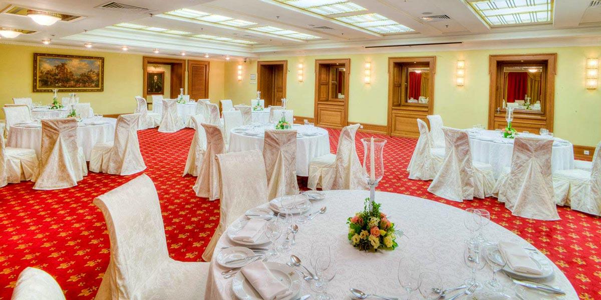 Petrovsky Ballroom, Hotel National, Prestigious Venues