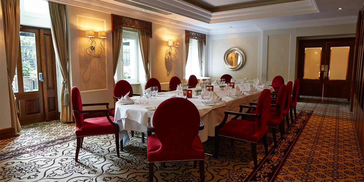 Private Dining Space, The Royal Horseguards, Prestigious Venues
