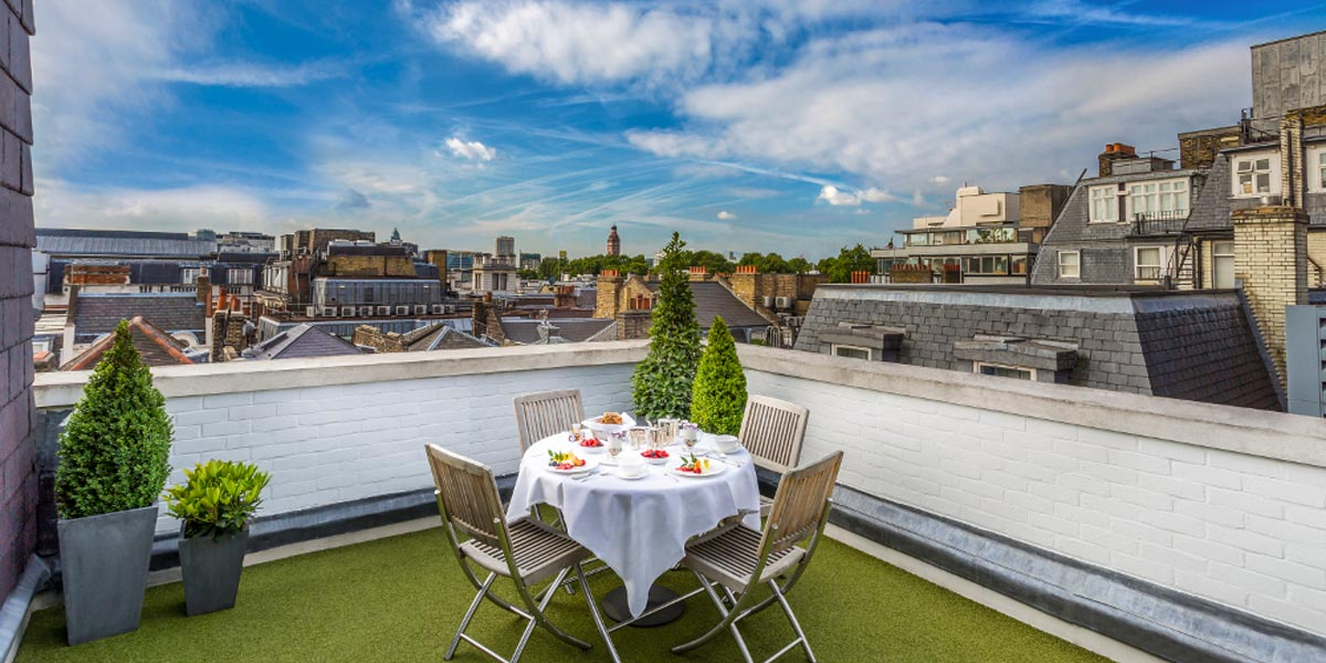 Rooftop Private Dining Venue, The Stafford London, Prestigious Venues