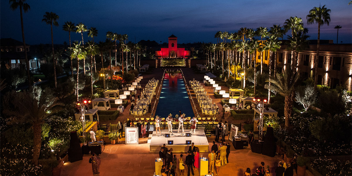 Event Themes, Urban Soul Orchestra Playing In Marrakech, Prestigious Venues Photo