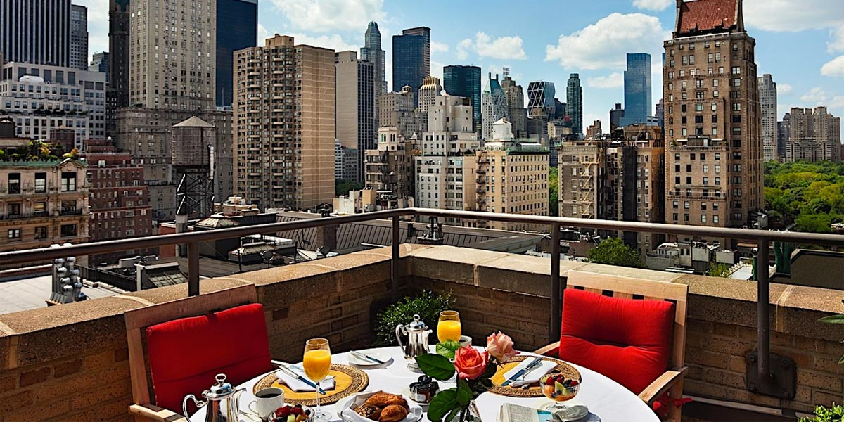 Venue With A View In New York, Hotel Plaza Athenee New York, Prestigious Venues