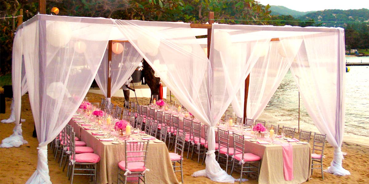Wedding In Montego Bay, Round Hill Resort, Prestigious Venues