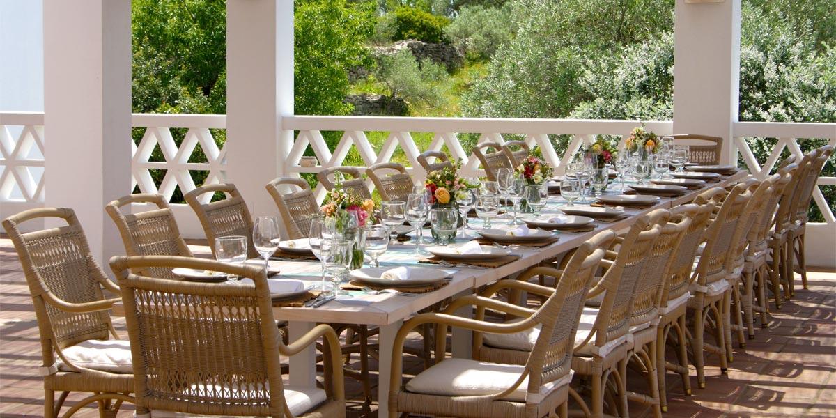 Private Dining At Laranjal, Vila Monte, Prestigious Venues