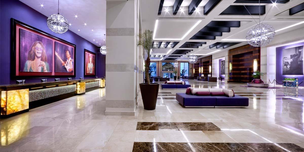 The Lobby, Hard Rock Hotel Punta Cana, Prestigious Venues