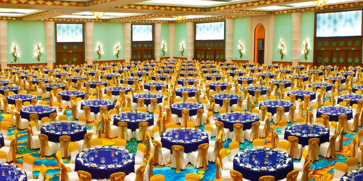 Atlantis Ballroom, Atlantis The Palm, Prestigious Venues, Dubai