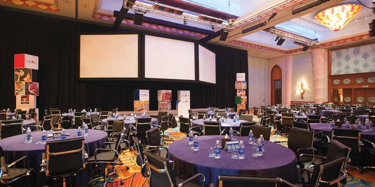 Atlantis Ballroom Conference Setup, Atlantis The Palm, Prestigious Venues