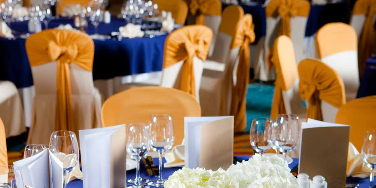 Atlantis Ballroom Table Setup, Atlantis The Palm, Prestigious Venues