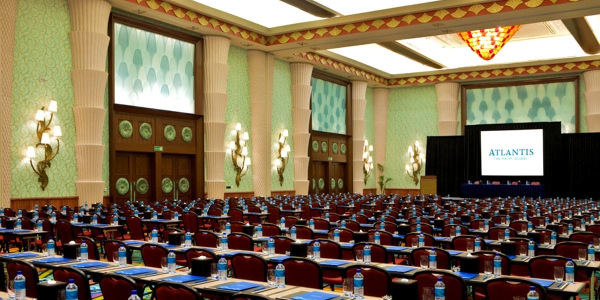 Conference Venue, Atlantis Ballroom, Atlantis The Palm, Prestigious Venues, Dubai