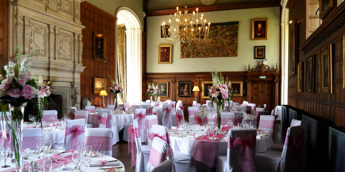 Country House Wedding Venue, Rushton Hall Hotel And Spa, Prestigious Venues