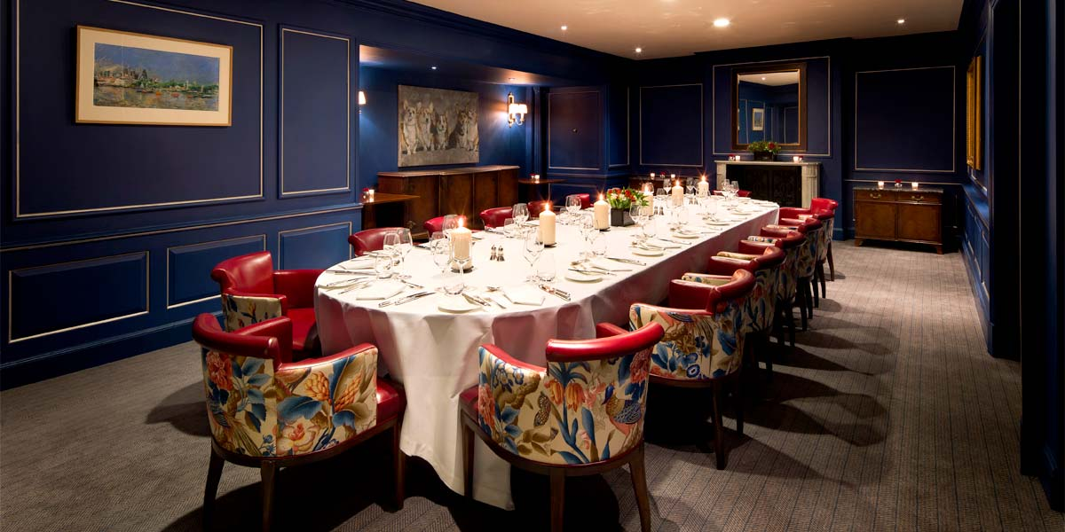 Executive Private Dining in London, The Stafford London, Prestigious Venues