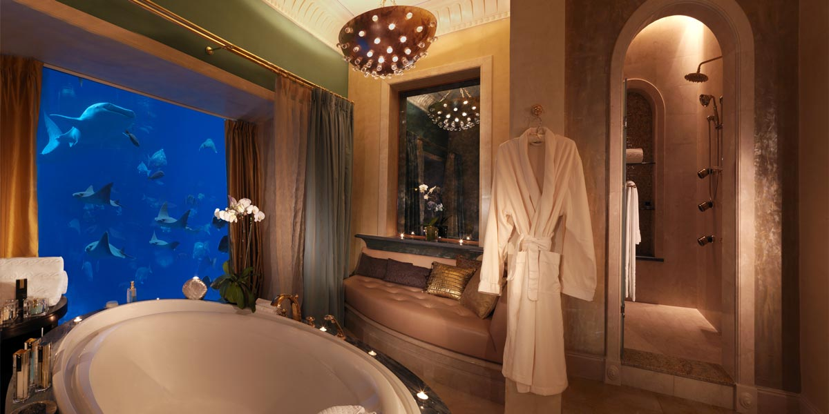 Lost Chambers Suite Bathroom, Atlantis The Palm, Prestigious Venues, Dubai