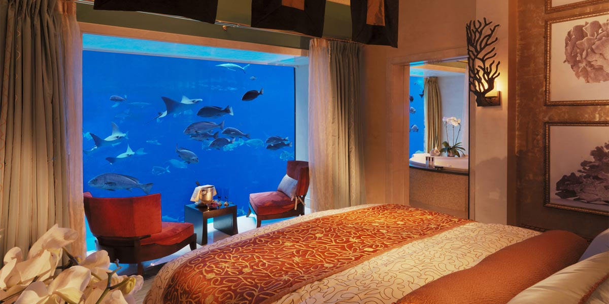 Lost Chambers Suite Bedroom, Atlantis The Palm, Prestigious Venues, Dubai