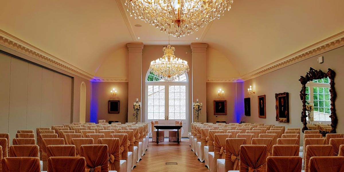 The Picture Gallery, Rushton Hall Hotel And Spa, Prestigious Venues