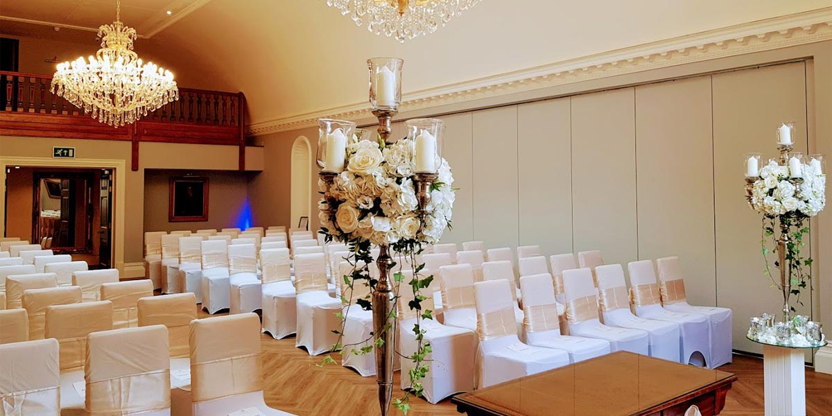 The Picture Gallery at The Orangery, Rushton Hall Hotel And Spa, Prestigious Venues