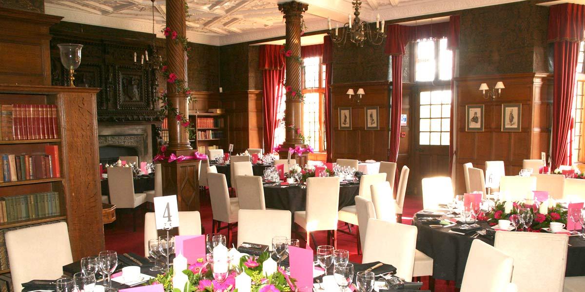 Wedding Breakfast Venue, Rushton Hall Hotel And Spa, Prestigious Venues