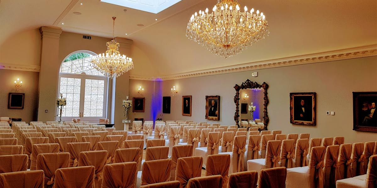 Wedding Ceremony, Rushton Hall Hotel And Spa, Prestigious Venues