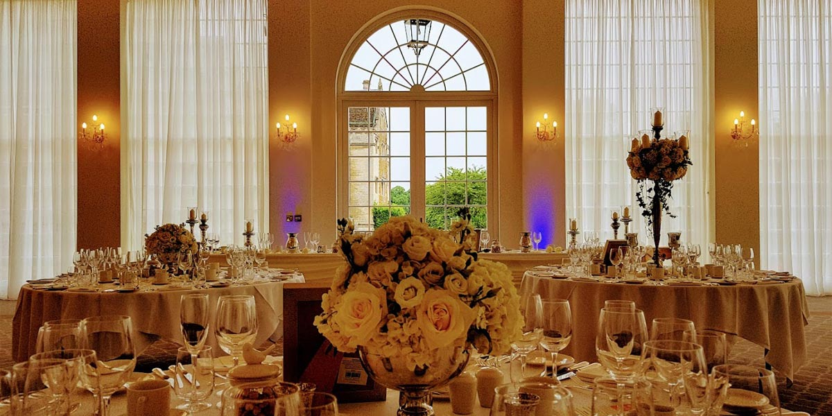 Wedding Venue, Rushton Hall Hotel And Spa, Prestigious Venues