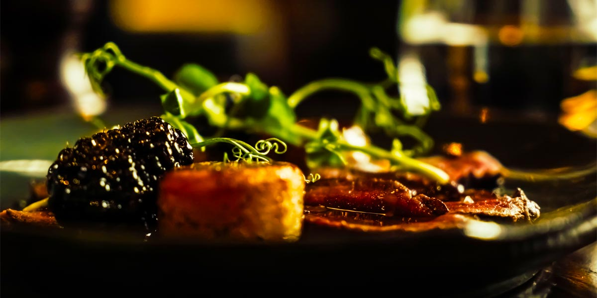 Venison, Fondants, Blackberry, The Hyde Bar, The Royal Park Hotel, Prestigious Venues