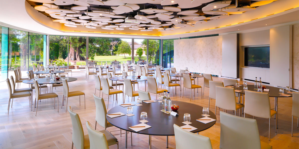 Conference Venue with Cabaret Seating, The Grove, Prestigious Venues