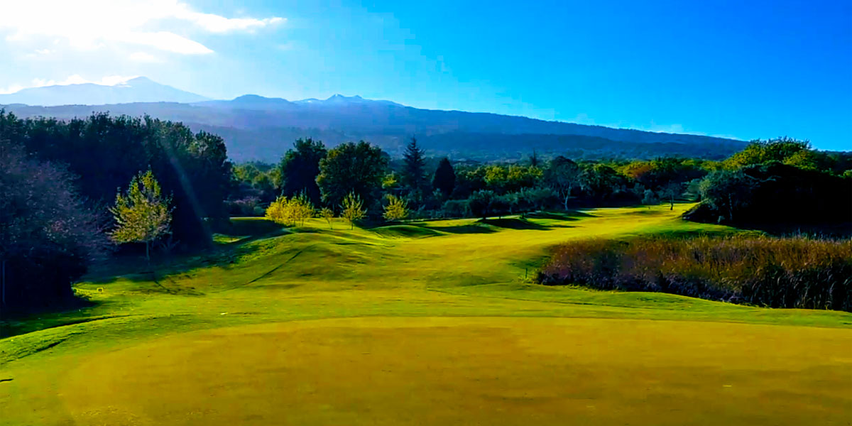 Golf Venue on Mt Etna, Il Picciolo Golf Club, Hotel Villa Diodoro, Prestigious Venues
