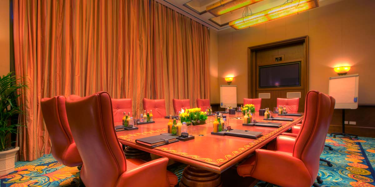 Atlas Boardroom Training Sesion, Atlantis The Palm, Prestigious Venues