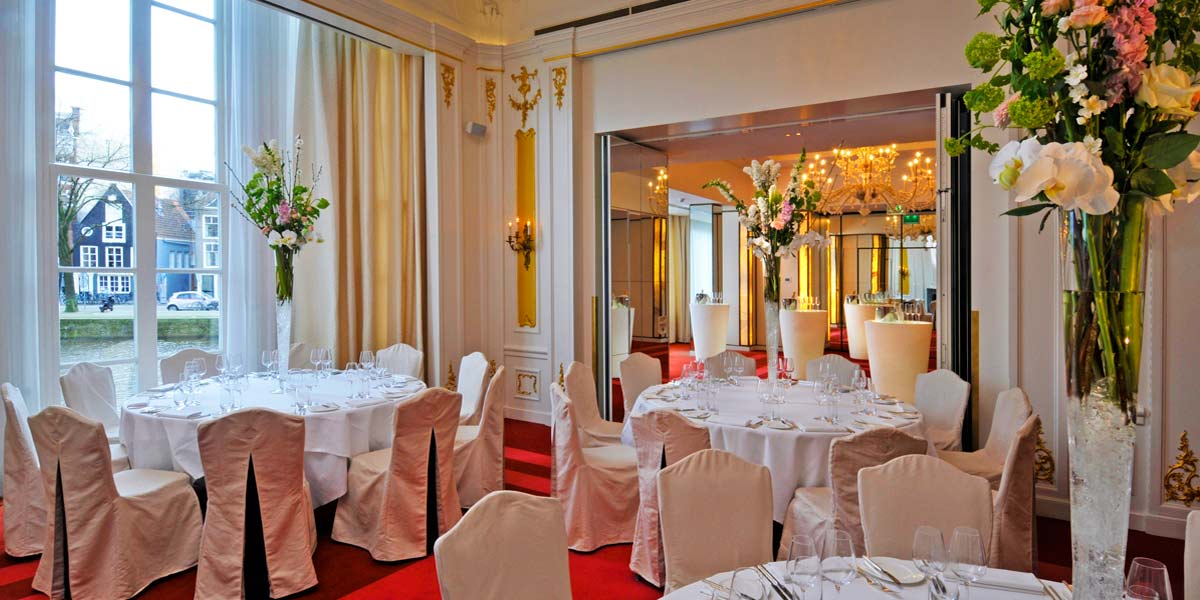 Private Party Venue, Birthday Party Venue in Amsterdam, De L'Europe, Prestigious Venues
