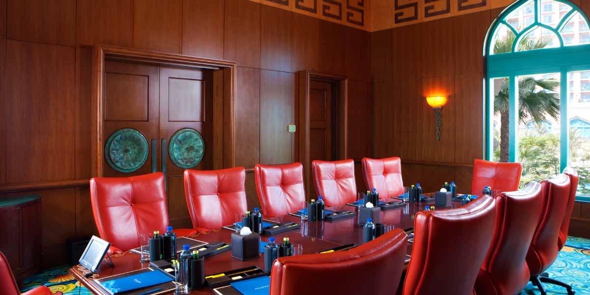 Board Meeting Venue, Board Meeting, Atlantis The Palm, Prestigious VEnues