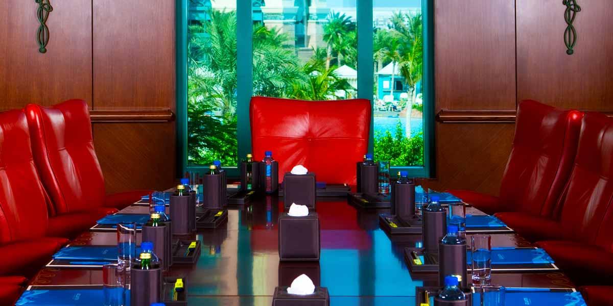 Board Meeting Room, Atlantis The Palm, Prestigious Venues