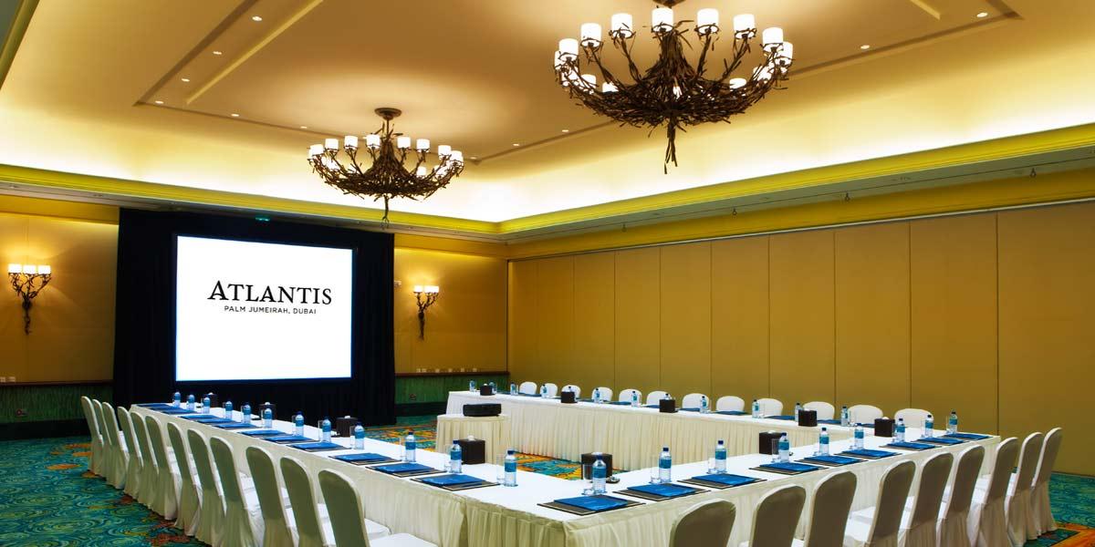 Meeting Venue, Meeting room, Atlantis The Palm, Prestigious Venues