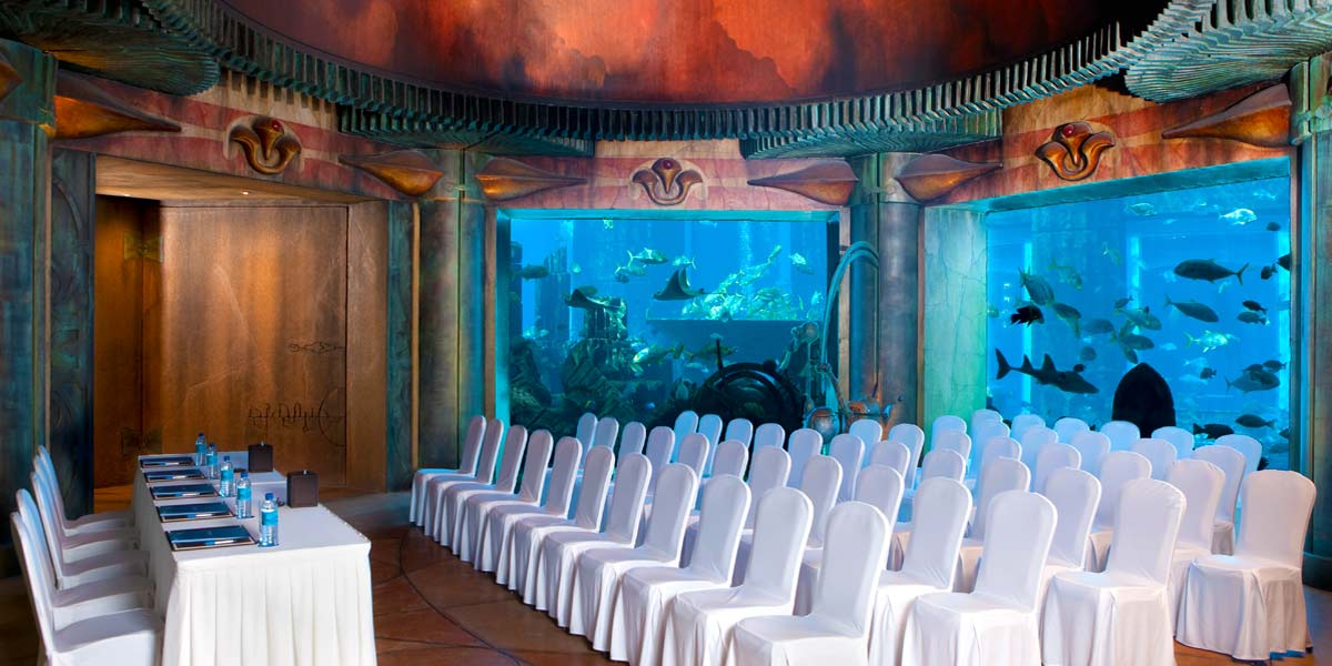 Conference in The Lost Chambers, Atlantis The Palm, Prestigious Venues