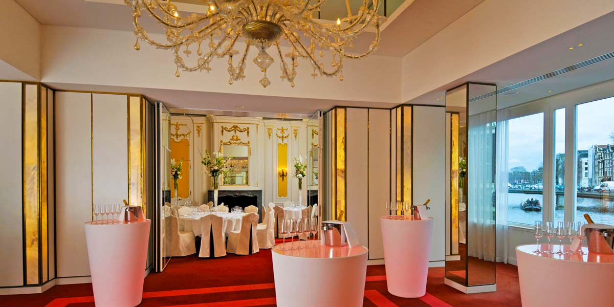 Networking Venue, Drinks Reception Venue, De L'Europe, Prestigious Venues
