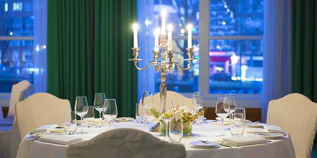 Heinekenkamer Dinner Setup, De L'Europe, Prestigious Venues