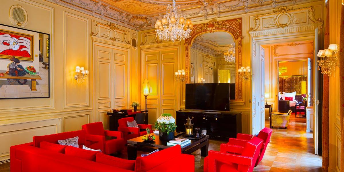 Hotel Suite in Paris for Events, Buddha Bar Hotel Paris, Prestigious Venues