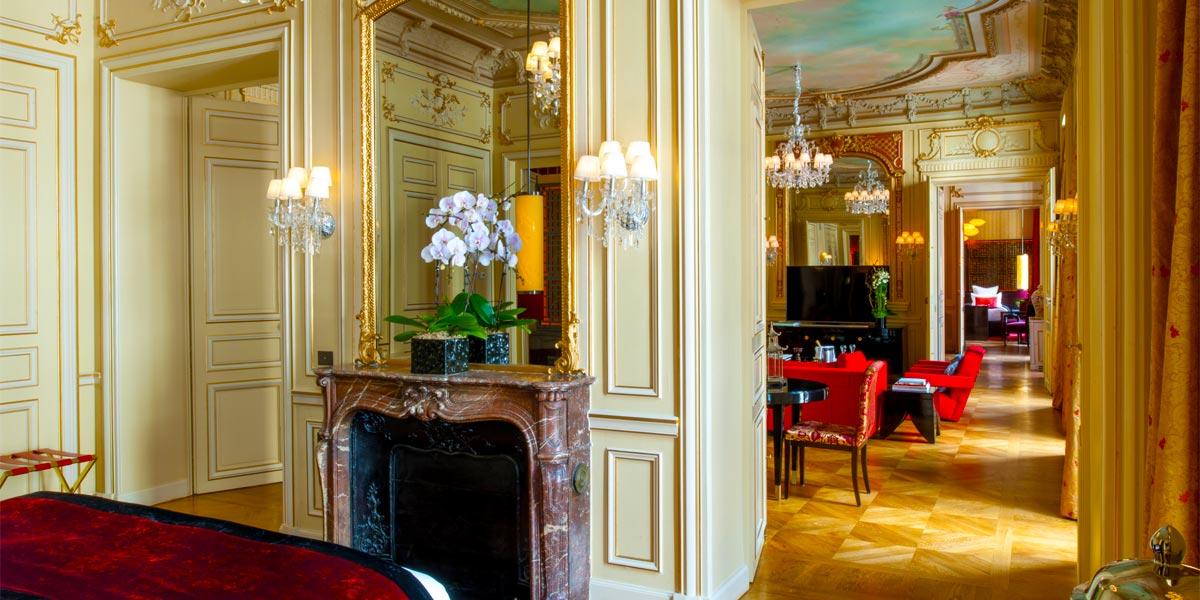 Luxury Suite For Events, Buddha Bar Hotel Paris, Prestigious Venues