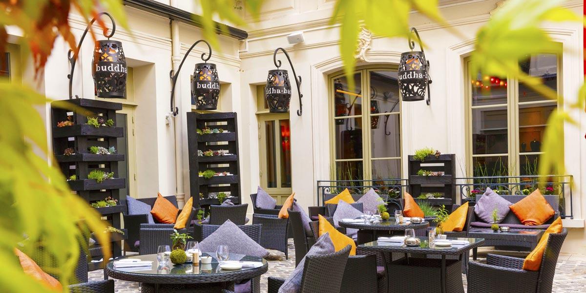Outdoor Dinner Venue in Paris, Buddha Bar Hotel Paris, Prestigious Venues