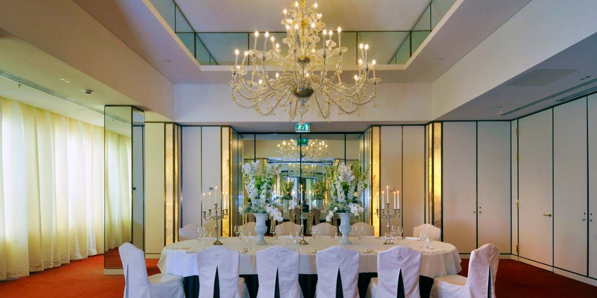 Private DIning Space, De L'Europe, Prestigious Venues