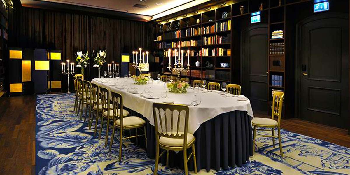 Private Dinner Venue, De L'Europe, Prestigious Venues