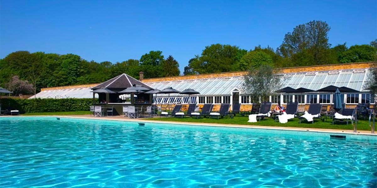 Swimming Pool, The Walled Garden, The Grove, Prestigious Venues