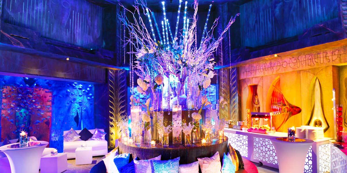 The Lost Chambers Reception, Atlantis The Palm, Prestigious Venues