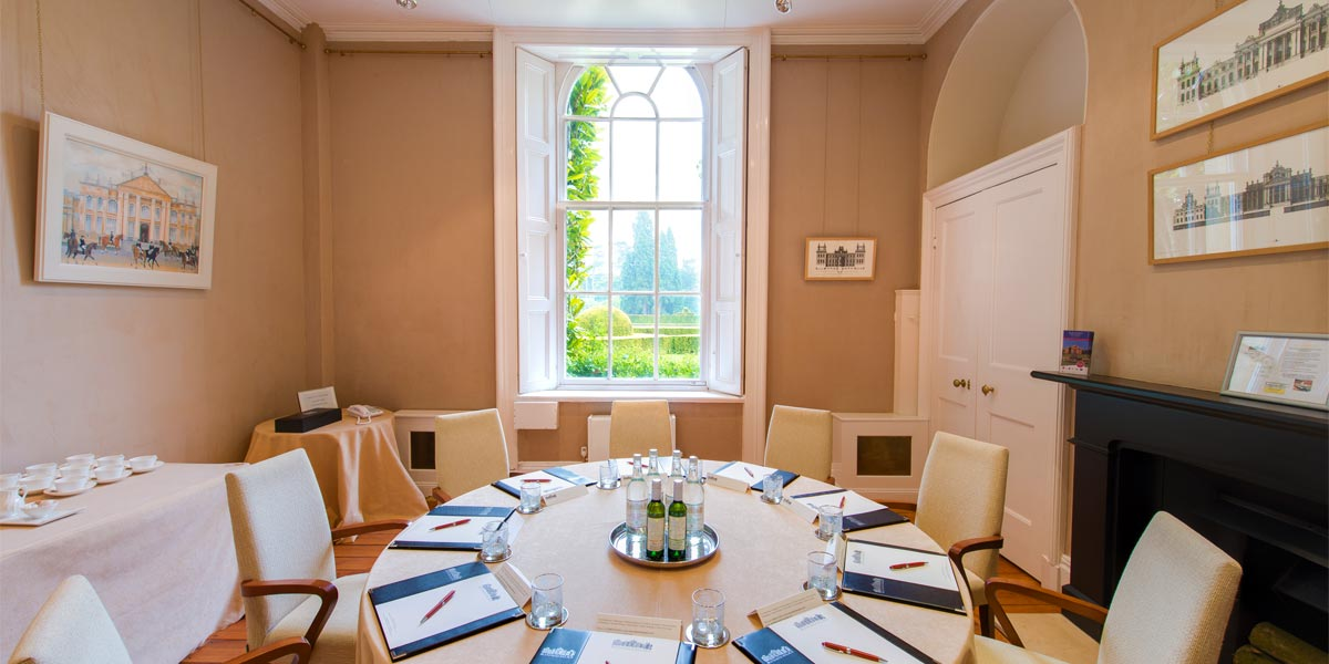 Boardroom Meeting Space, Blenheim Palace, Prestigious Venues