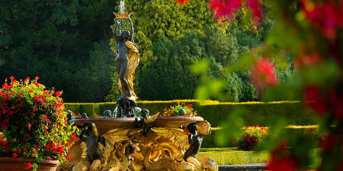 Italian Garden Fountain, Blenheim Palace, Prestigious Venues