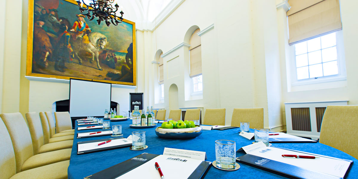 Space For Training Events, Blenheim Palace, Prestigious Venues