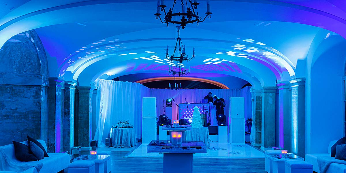 Reception Venue, Water Terraces Interior, Blenheim Palace, Prestigious Venues