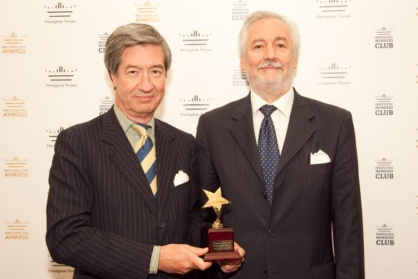 Bruno Petruzzo and Claudio Cornini, Donnafugata Golf Resort & Spa, Prestigious Star Awards 2015