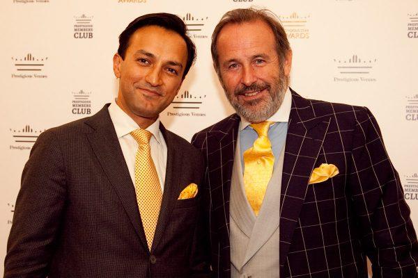 Habib Amir and David Reay Scott, Blue Ice Management, Prestigious Star Awards 2015